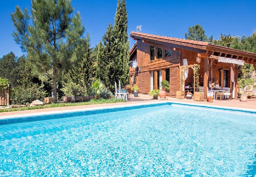 LL 647 Exclusive villa for 7 persons with private pool on the Costa Brava near Lloret de Mar