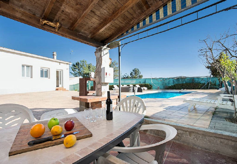 LL 806 Villa for 8 persons with private pool near Lloret de Mar Costa Brava